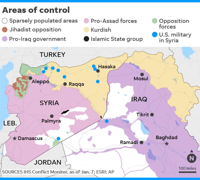 U.S. Syria troop exit begins amid conflicting Trump, Bolton ...