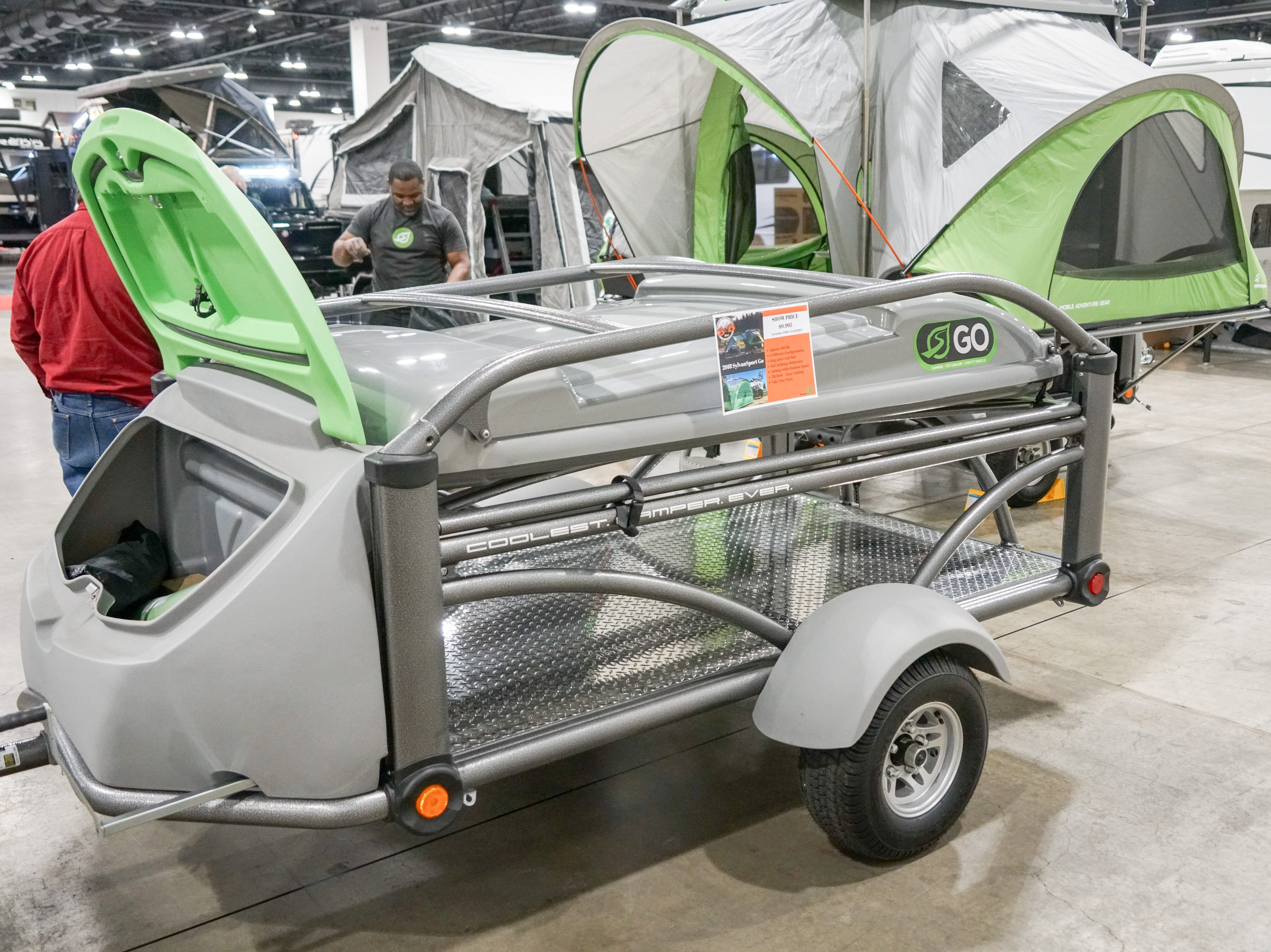 RV manufacturers now offer a wide range of lightweight campers that can be towed with small SUVs.