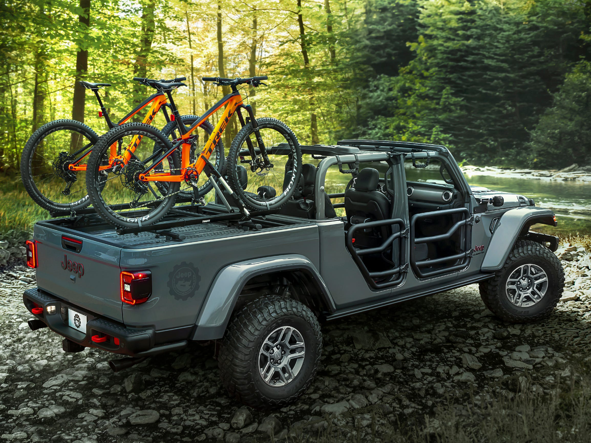 This is the Mopar-modified all-new 2020 Jeep® Gladiator Rubicon.
