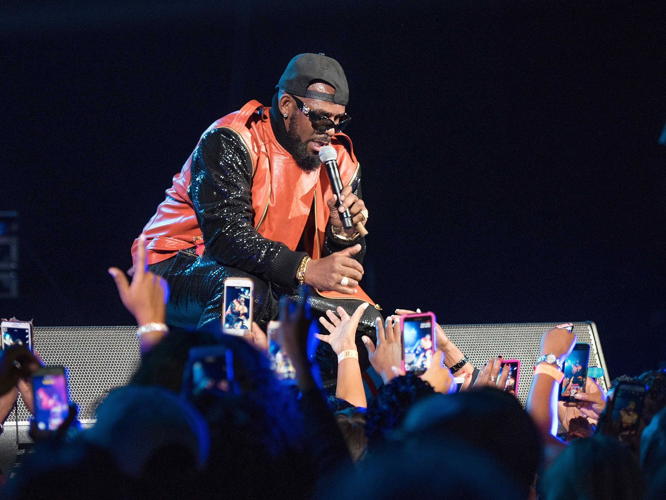 R. Kelly performs in concert at Barclays Center on Sept. 25, 2015, in New York City.