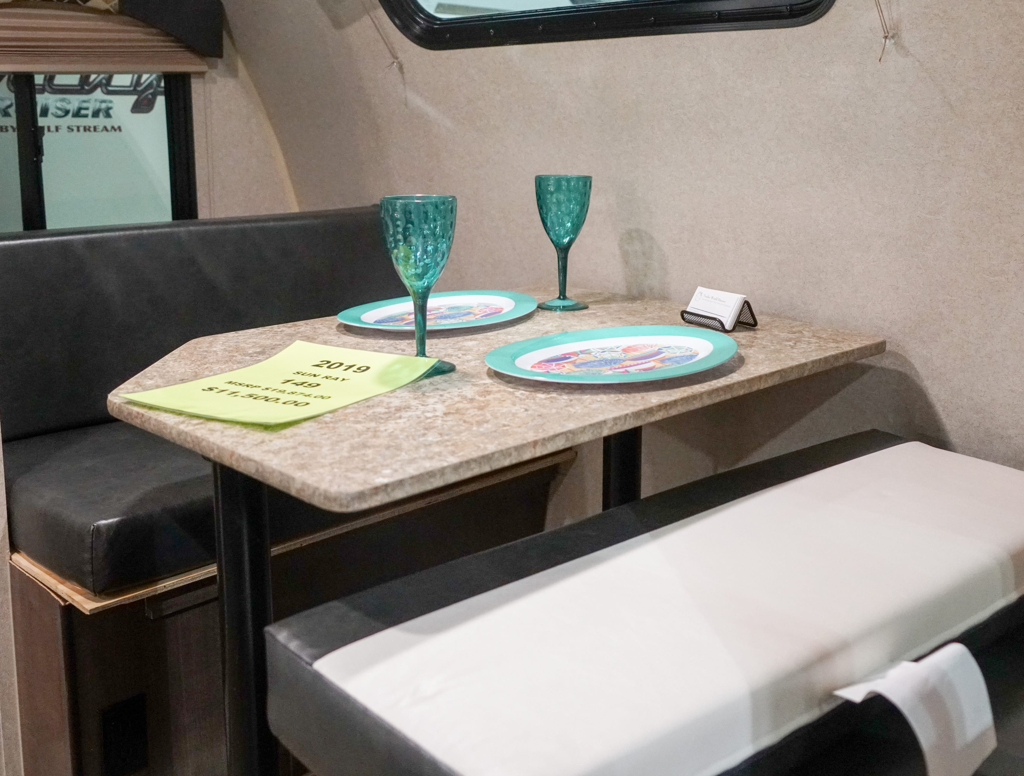 Many RV enthusiasts say they love being able to travel with all the comforts of home.