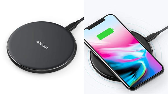 A small pad for easy charging.