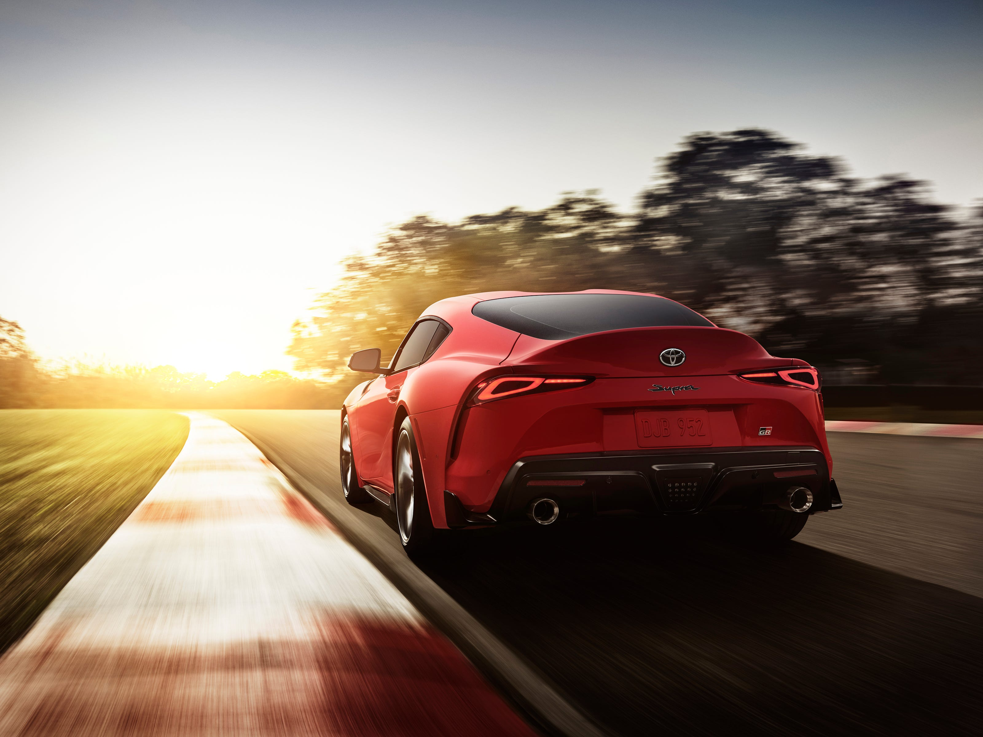 The 2020 Toyota Supra.