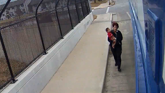 No one expects to find a baby wandering alone. This bus driver stopped to help.