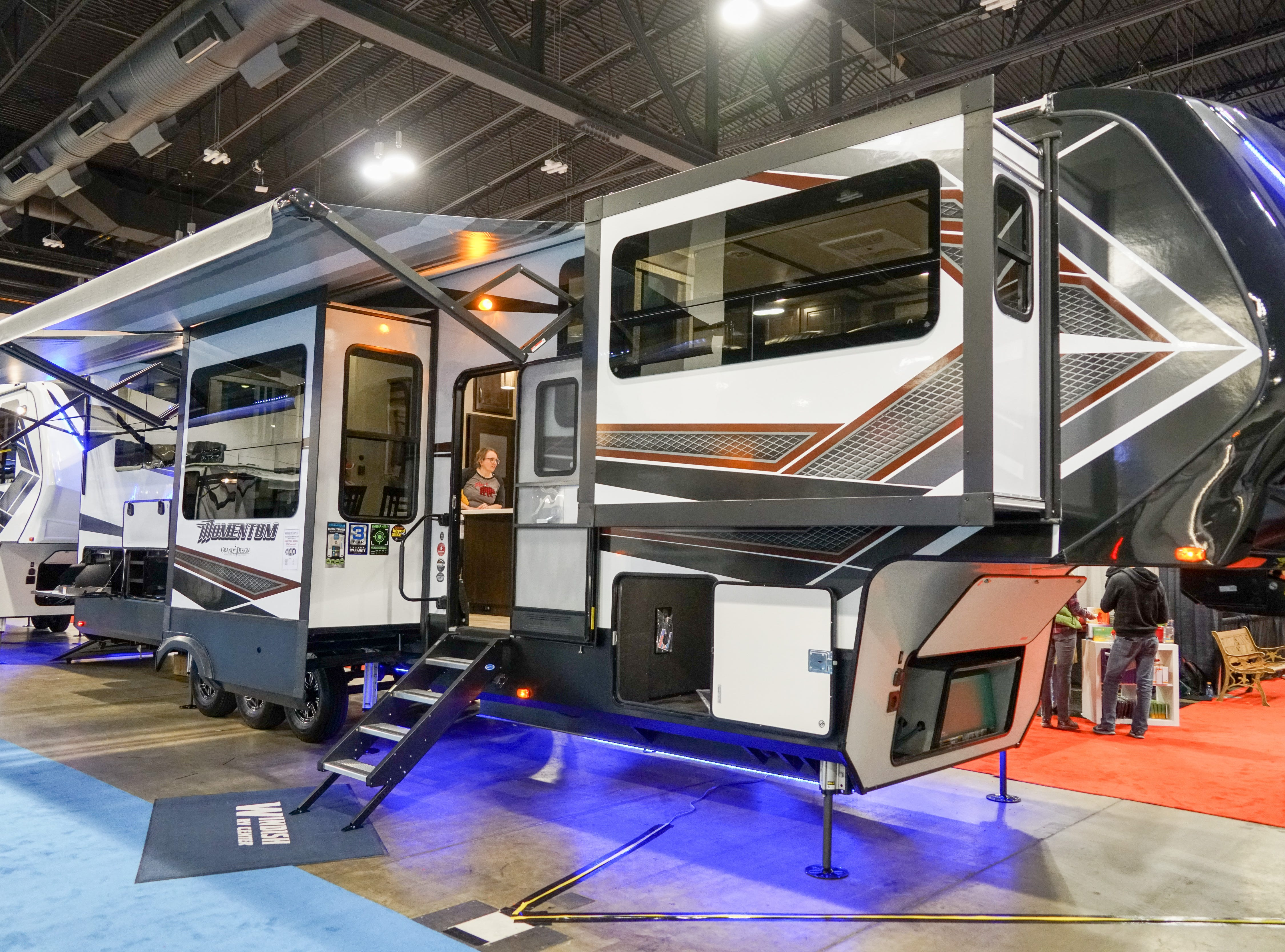 Popouts can add significant living space to an RV.