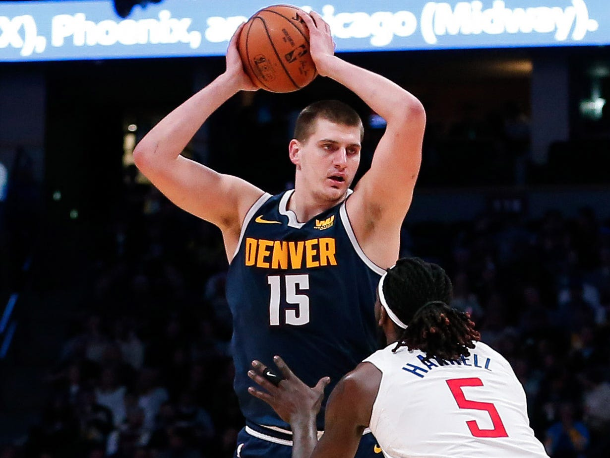 48. Nikola Jokic, Nuggets (Jan. 10): 18 points, 14 rebounds, 10 assists in 121-100 win over Clippers (fifth of season).