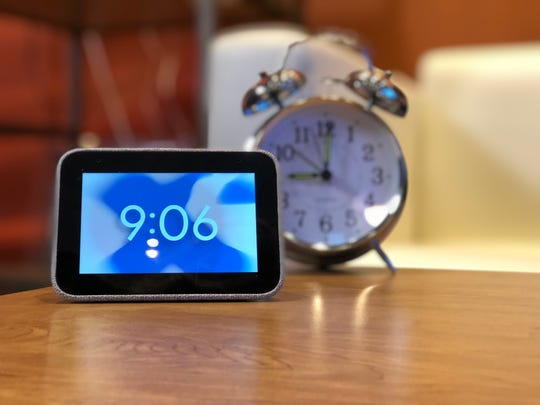 Lenovo's new Smart Alarm Clock is a total rethink of the classic alarm clock. Equipped with Google Assistant, the palm-sized device lets you set or modify alarms and reminders with your voice, and wake up gently to light and music. Aimed to replace your smartphone at your bedside, this new clock comes out in the spring for $80.