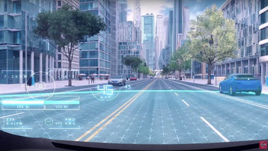"Nissan's Invisible-to-visible tech paints future of cars able to ""see around corners"""