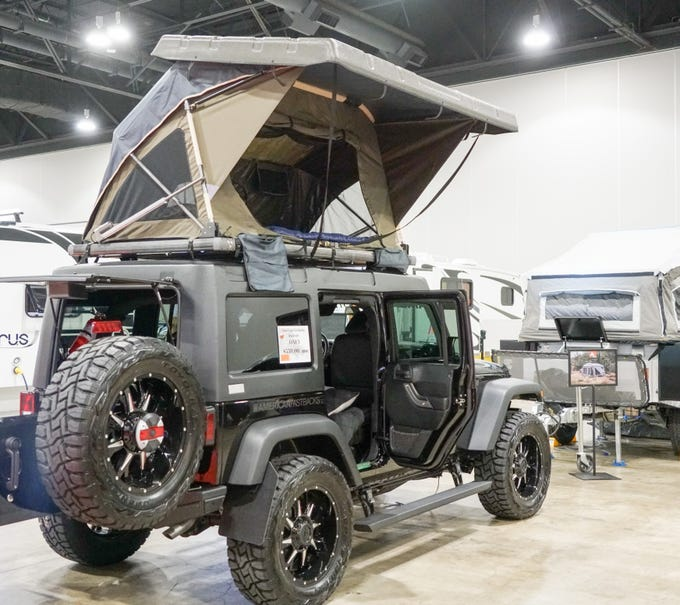RV manufacturers now offer a wide range of lightweight campers that can be towed with small SUVs - or atop them.