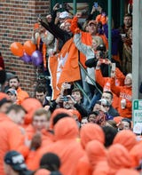 Clemson football fans officially celebrate their team's National Championship victory over Alabama in downtown Clemson and at Memorial Stadium.