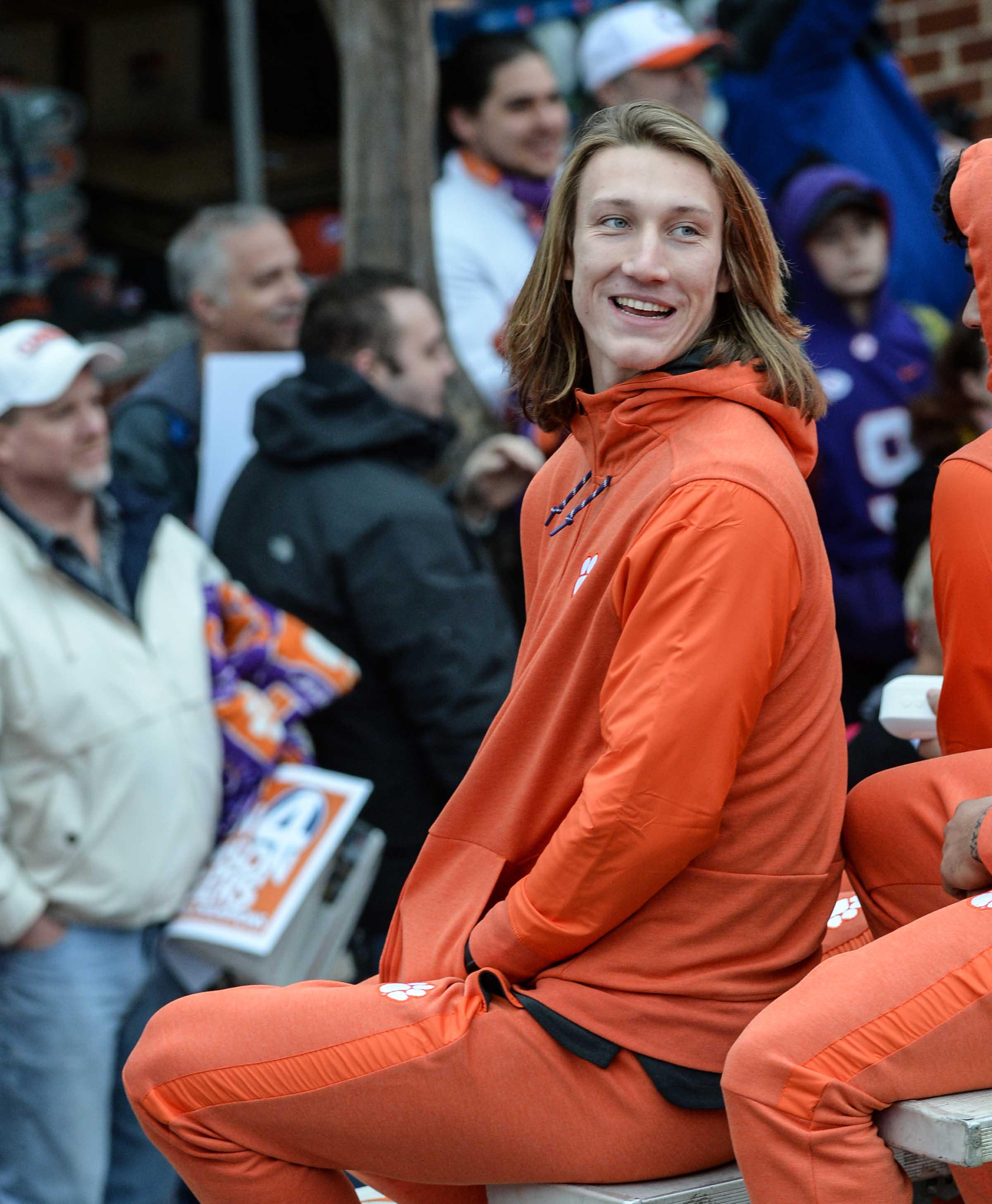 Clemson QB Trevor Lawrence calls out fake Twitter quote praising fast food at White House