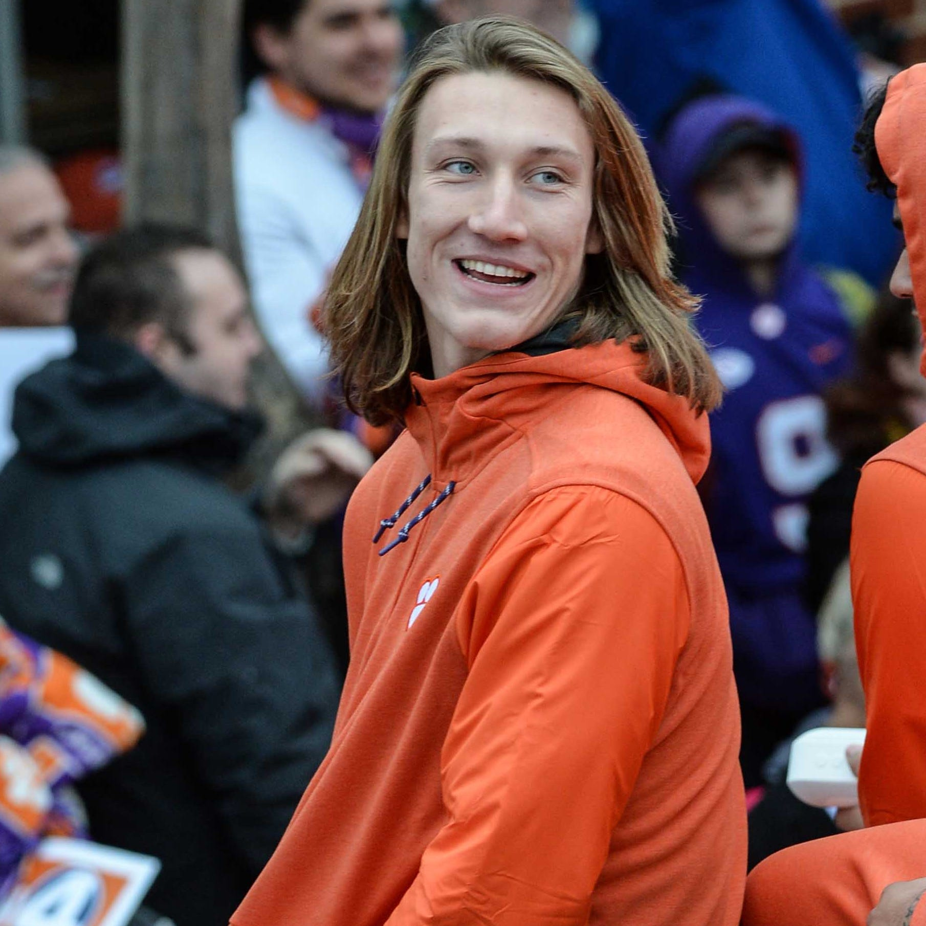 Clemson quarterback Trevor Lawrence denies calling White House meal 'best we ever had'