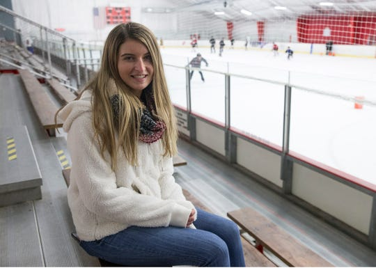 Tori Zawanda, team manager of St. Rose hockey came up with the idea to help the family. A fundraiser is held at the Jersey Shore Arena for the Martignetti family of Wall, whose family was completely destroyed by a fire last week. One of the daughters attends St. Rose. Both Wall and St. Rose hockey teams have senior night during their games with all proceeds going to the family in need. Wall Township, NJFriday, January 11, 2019