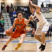 Middletown North's Rob Higgins. The 2019 Boardwalk Hoop Group Showcase tournament takes place at Brookdale Community College. Game two features Middletown North vs Rumon-Fair Haven. Middletown, NJSaturday, January 12, 2019
