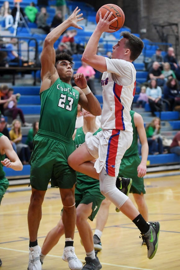 Mountain Heritage defeated Madison 84-57 Jan. 11, 2019 in Marshall.