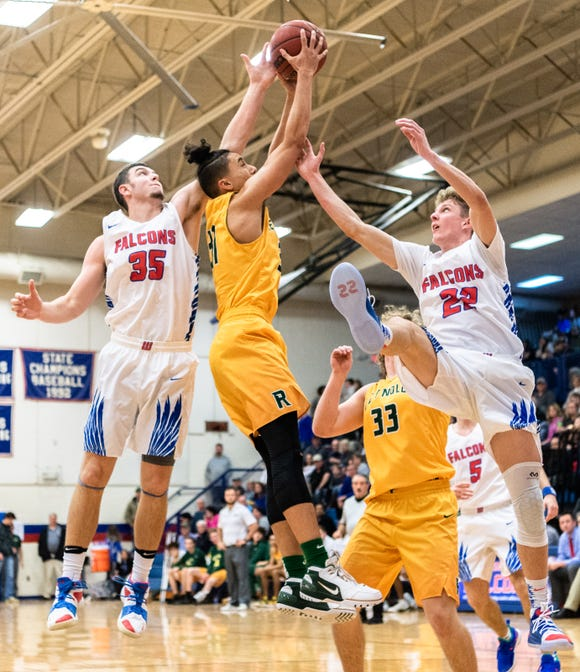 West Henderson hosted Reynolds for their Friday night basketball game Jan. 11, 2019.