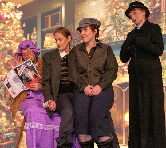 "Players of Utica produced ""The Farndale Avenue Housing Estate Townswomen's Guild Dramatic Society's production of A Christmas Carol"" by David McGillivray, Walter Zerlin Jr. in December of 2018."