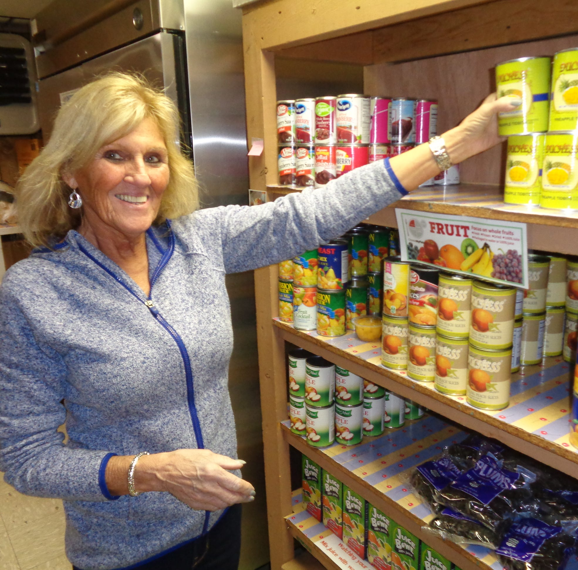 Giving Back: Tioga County food pantry volunteer knows what it's like to need one