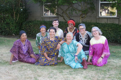 Anzanga, Seattle's own African marimba ensemble, play Jan. 18 at Bainbridge Performing Arts.
