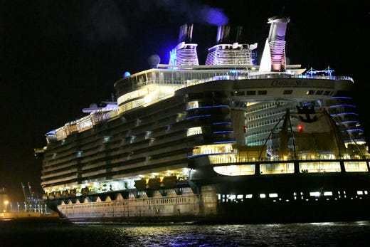 Royal Caribbean Oasis Of The Seas Returns To Port