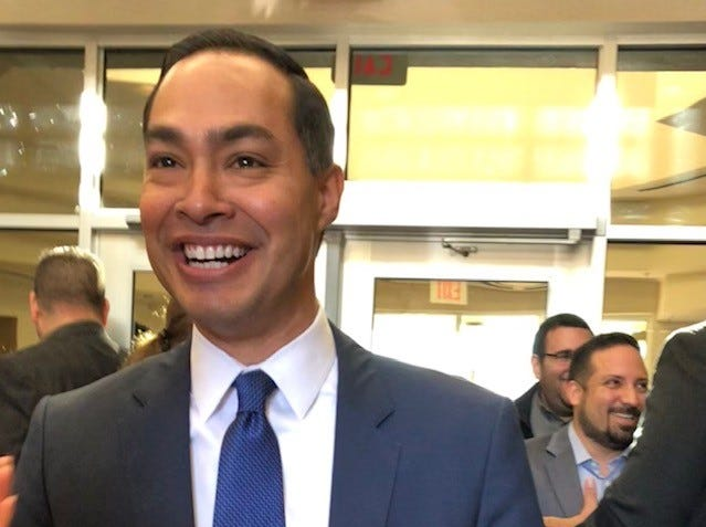 Julian Castro enters 2020 race for the Democratic presidential nomination