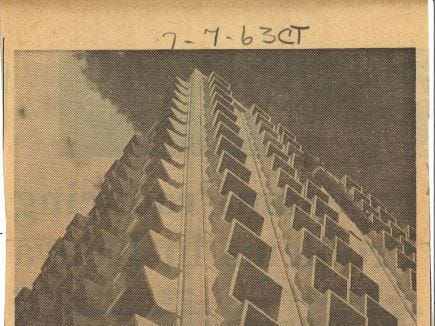 The 600 Building was built in 1963 on Leopard Street in uptown Corpus Christi. It is 21 floors and 247-feet tall.