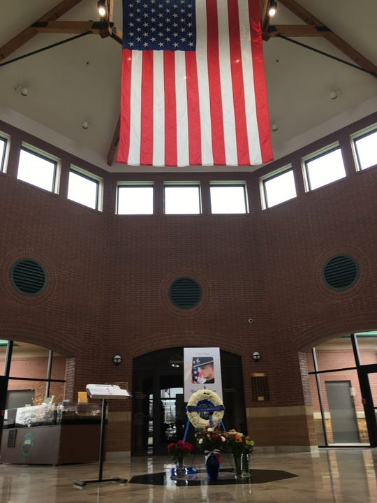 Colerain Township has a register book and small memorial set up inside the rotunda of the Colerain Administration building. The public can sign the book and leave messages and flowers there.