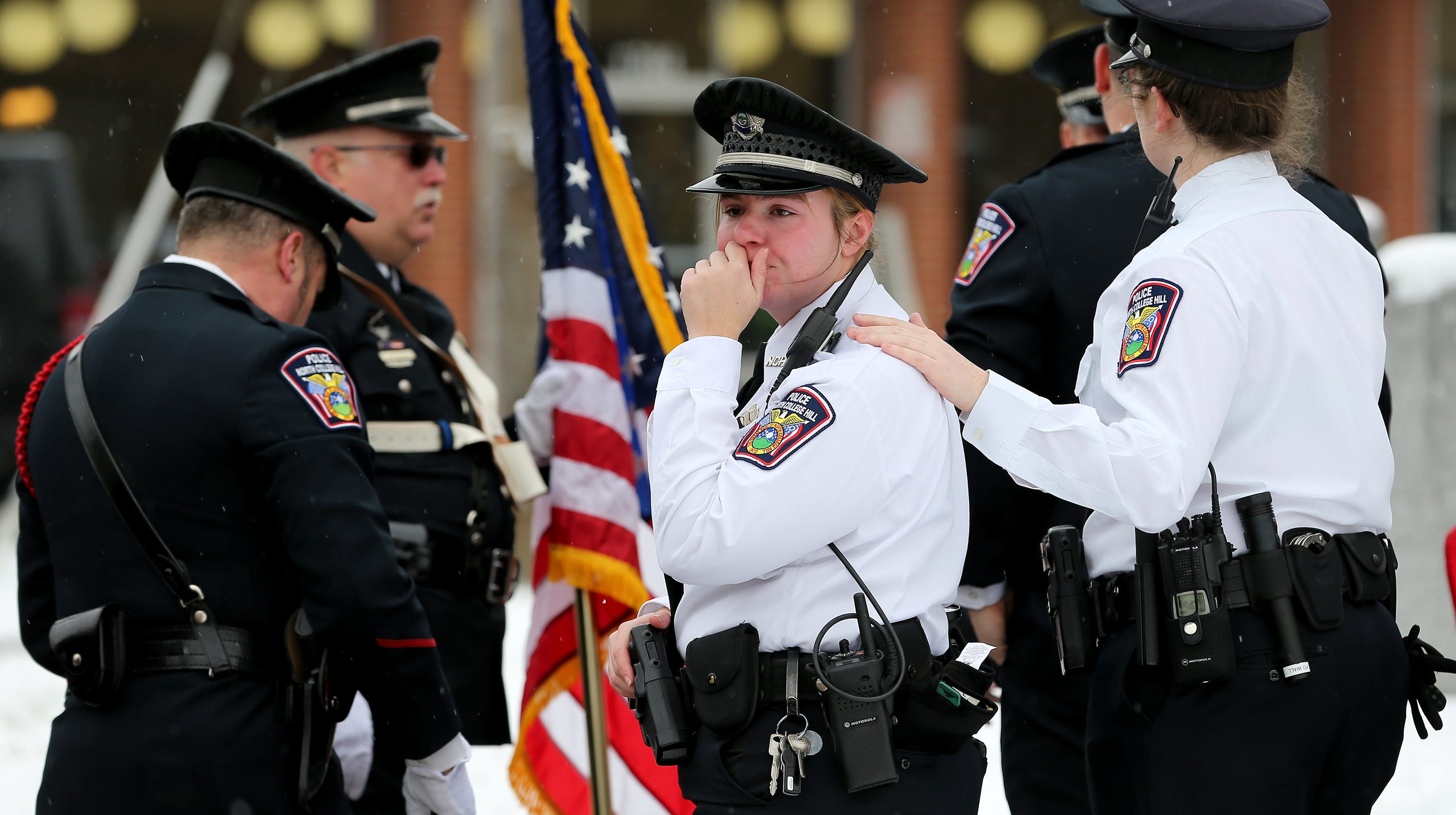 Dale Woods Funeral And Burial For Colerain Police Officer