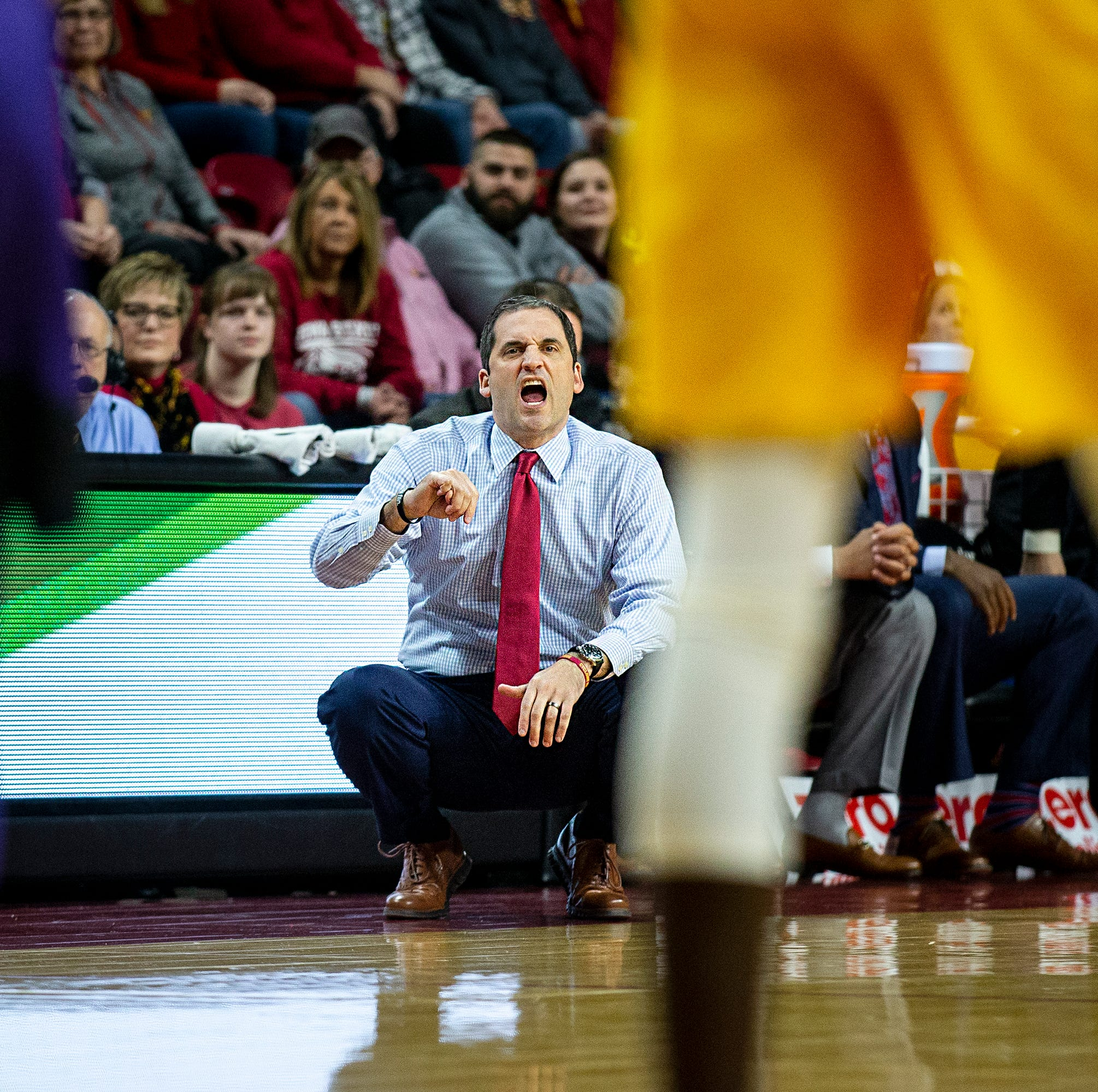 Peterson: Steve Prohm so upbeat that it's like Iowa State's losses to Baylor, Kansas State were overruled