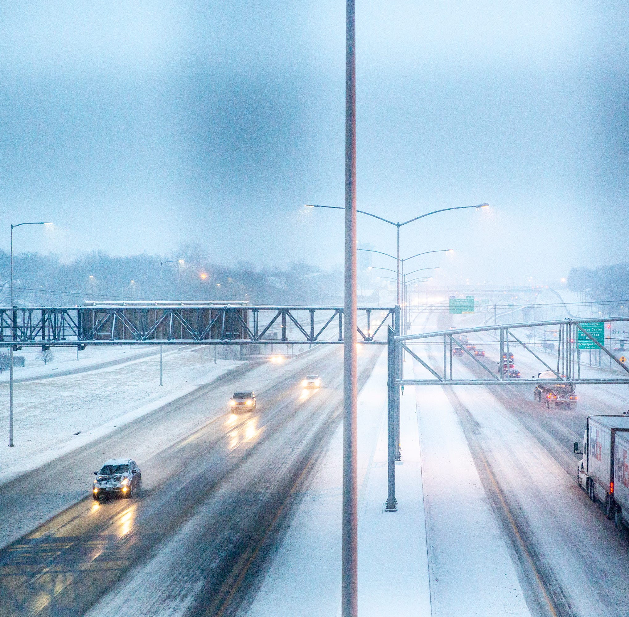 Iowa snow: When will it hit, how much will fall, and what will your commute look like?