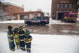 Hear remarks from Clinton Fire Department chief Mike Brown during Lt. Eric Hosette, on Saturday, Jan, 12, 2019.