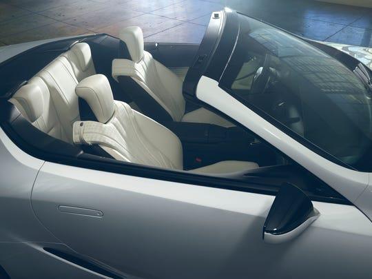 Lexus LC concept cat