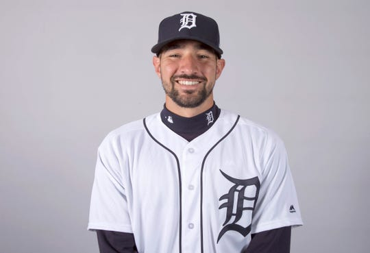 Nicholas Castellanos had a career-high 46 doubles for the Tigers in 2018.
