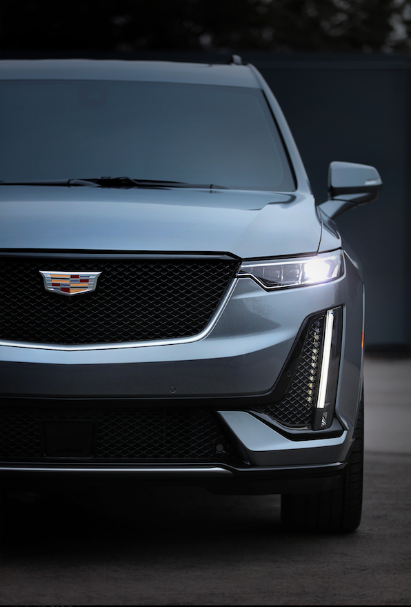 XT6 SUV debuts an evolution of Cadillac's styling theme