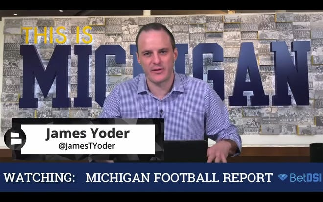 James Yoder hosts Michigan Football Report, which has drawn a sharp rebuke from the University of Michigan football program.