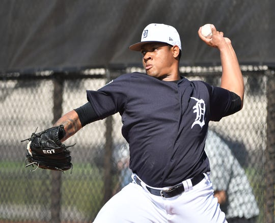Left-handed Tigers prospect Gregory Soto has been suspended by Major League Baseball for 20 games under provisions of the sport's collective bargaining agreement allowing discipline for conduct detrimental or prejudicial to the sport.