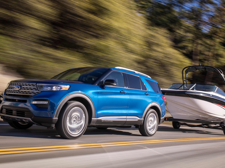 The 2020 Ford Explorer Hybrid.