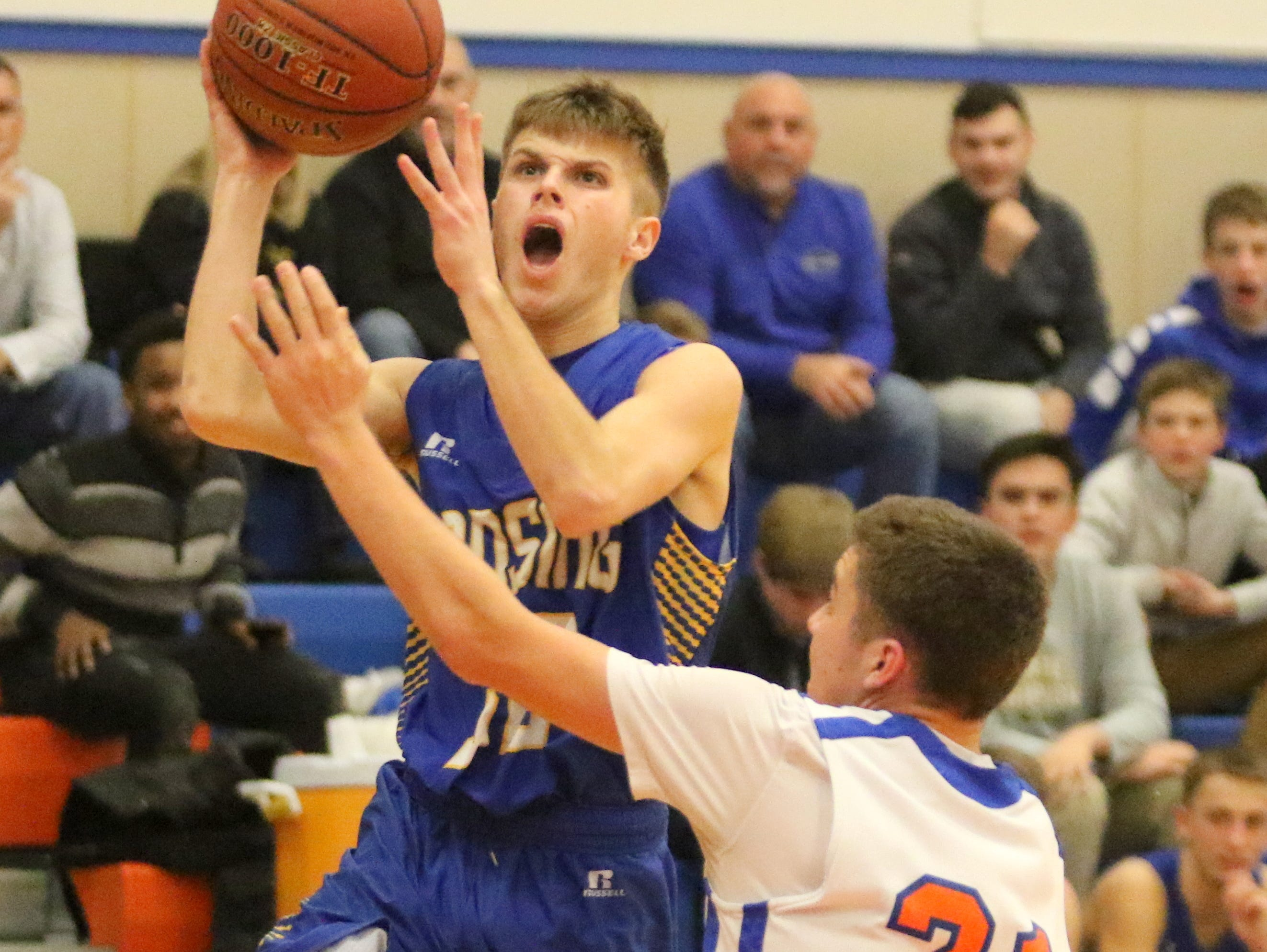 Lansing was a 67-30 winner over Thomas A. Edison in boys basketball Jan. 11, 2019 in Elmira Heights.