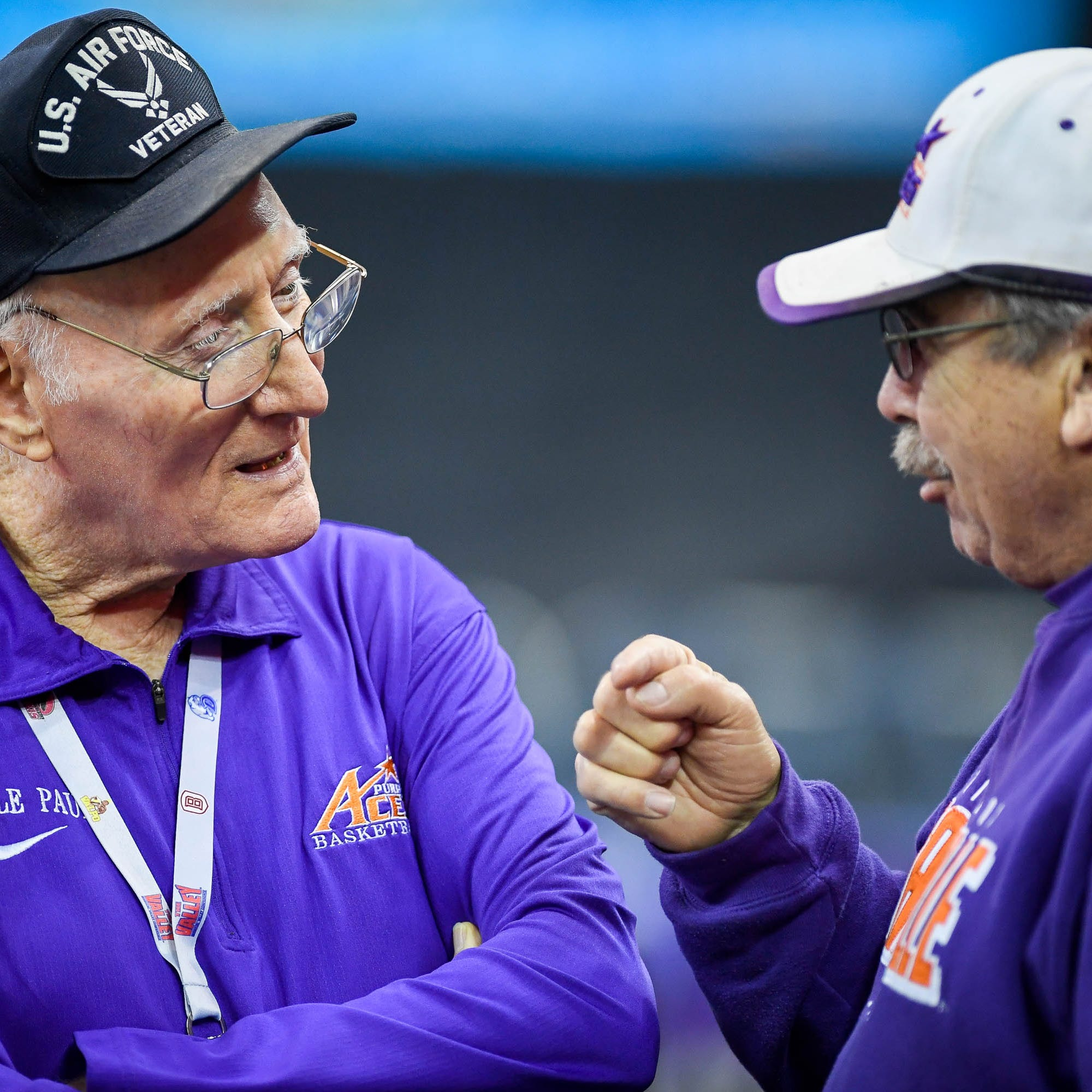 Behind the fandom of longtime Aces booster 'Purple Paul' Werner