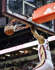 Florida State sophomore guard M.J. Walker scored 6 points against Miami on Wednesday night.