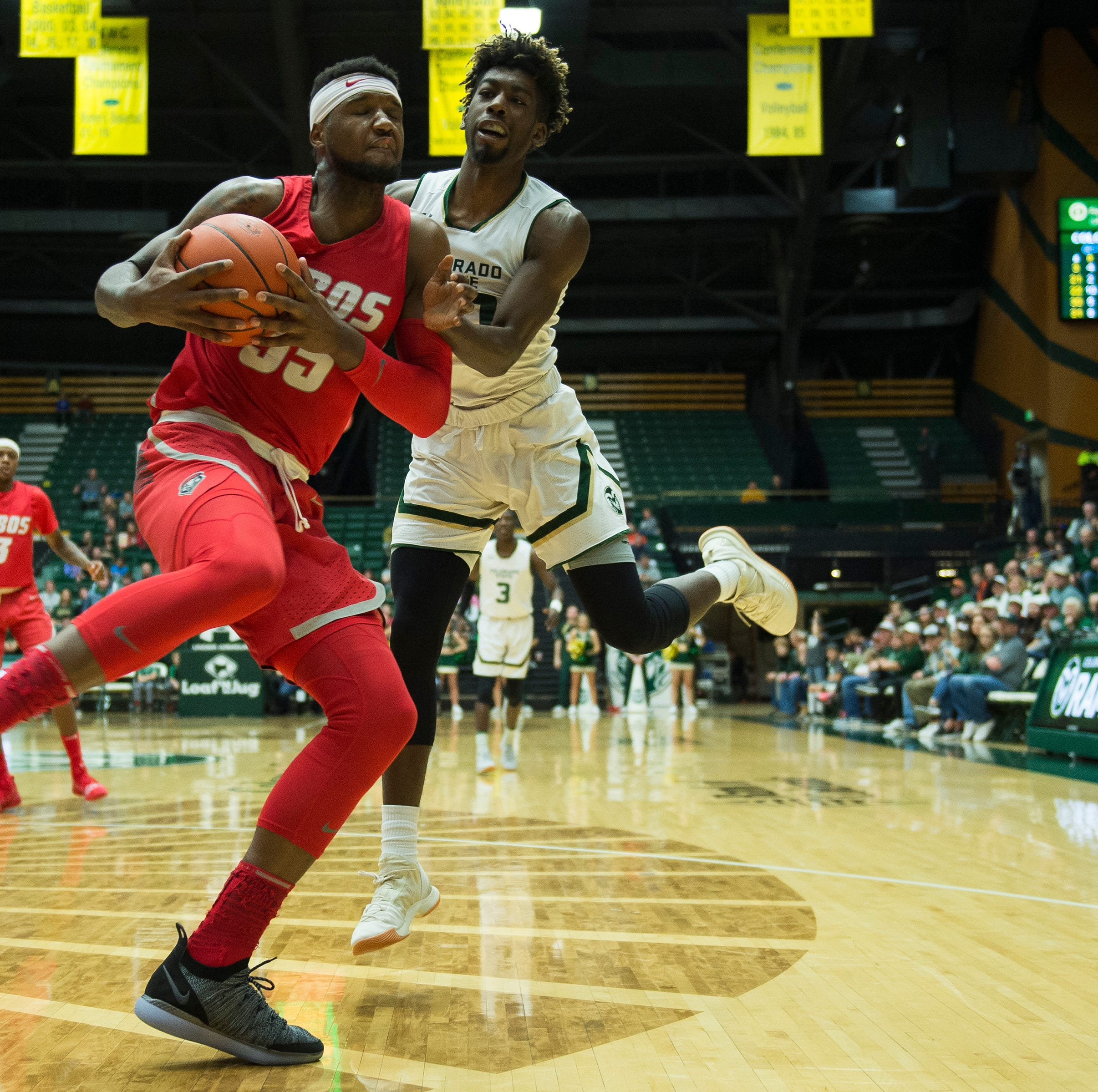Shorthanded Colorado State men's basketball team loses at New Mexico