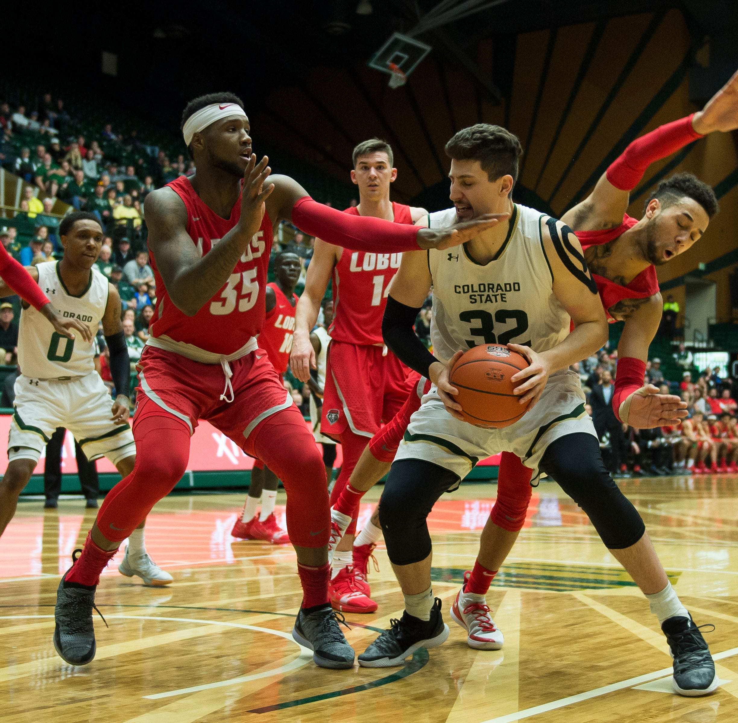 Colorado State's Nico Carvacho earns Mountain West basketball award