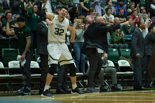 CSU redshirt junior Nico Carvacho has been named a finalist for the 2019 Kareem Abdul-Jabbar Center of the Year award.
