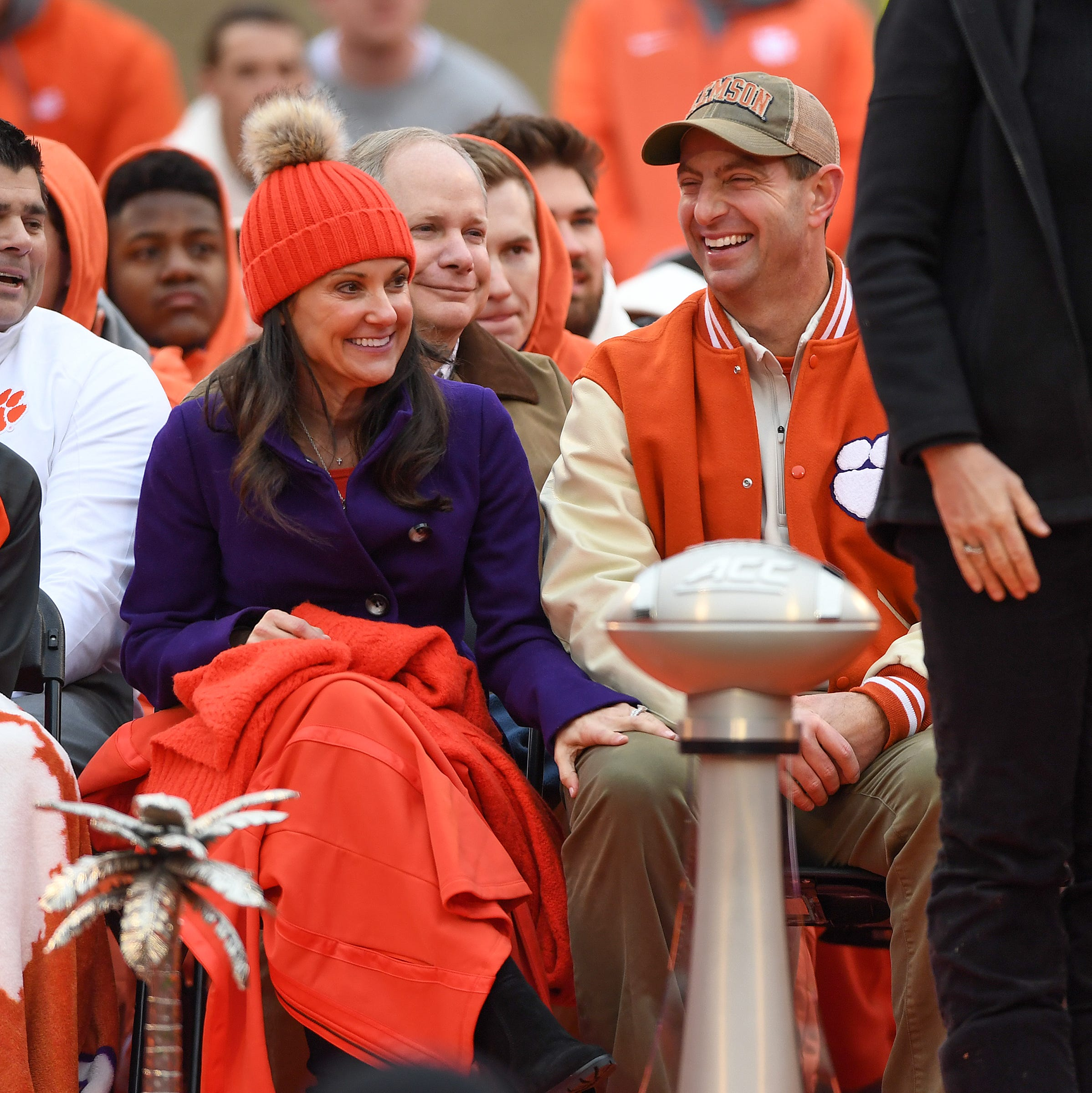 Clemson football team, fans savor national title with parade, celebration at Death Valley