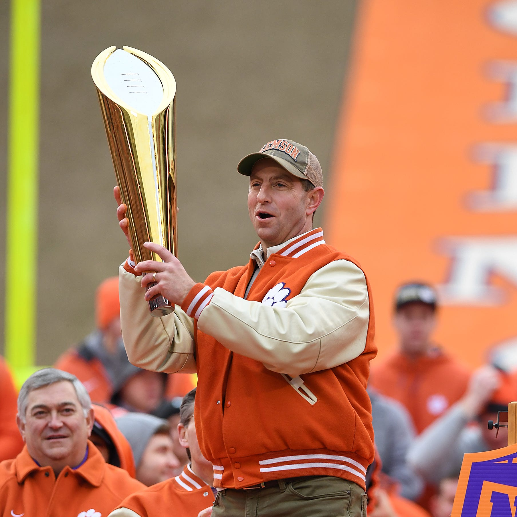 Clemson coaches, players, fans celebrate another football national title