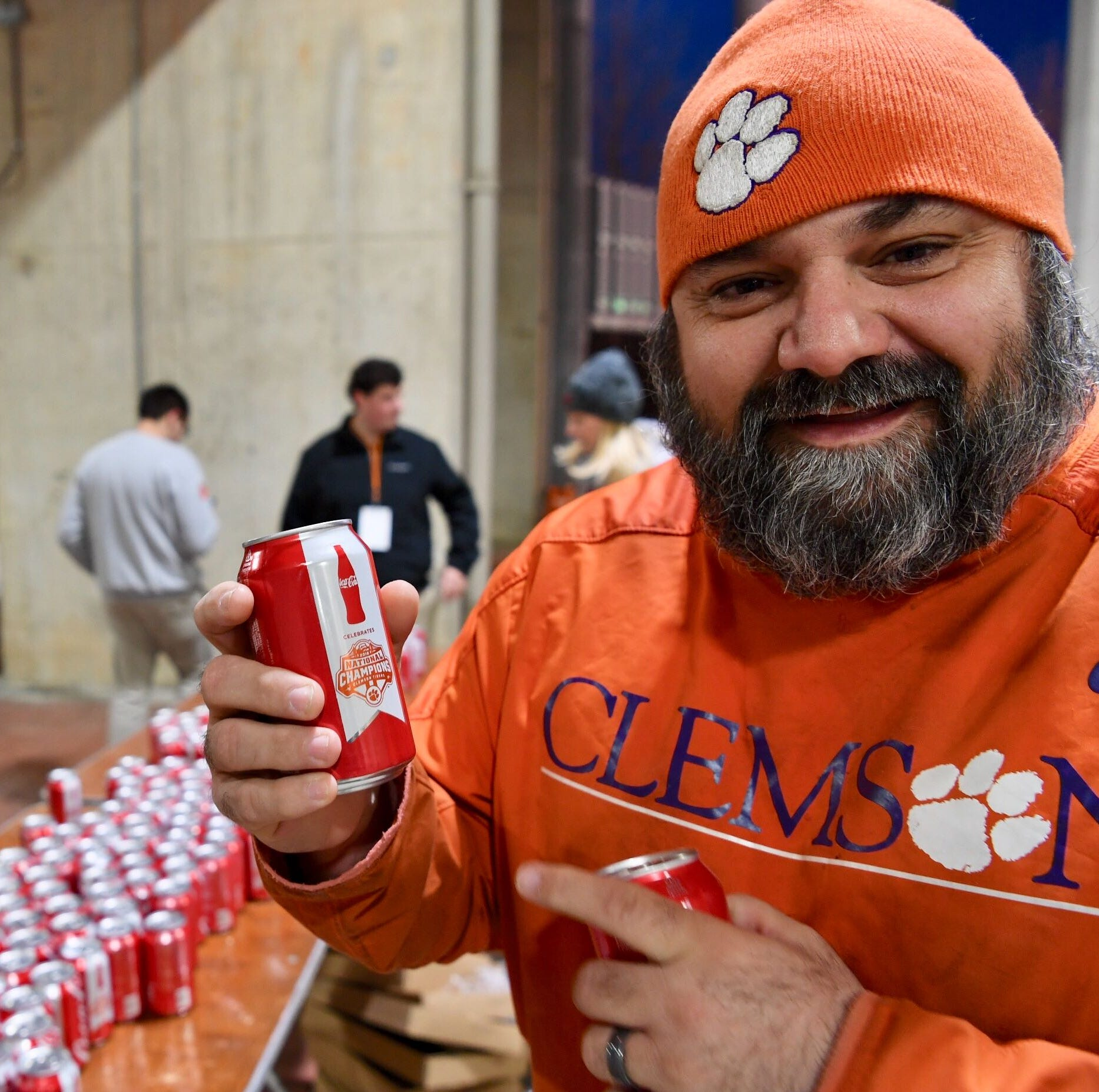 Coca-Cola releases Clemson football national championship can. Here's how to get them.