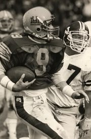 Bob Connors was a fine runner and accurate passer while playing quarterback for the Montana Grizzlies.