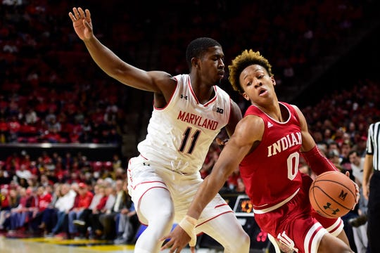 Indiana might be struggling, but the Hoosiers at least can count on their sensational freshman, Romeo Langford (0).
