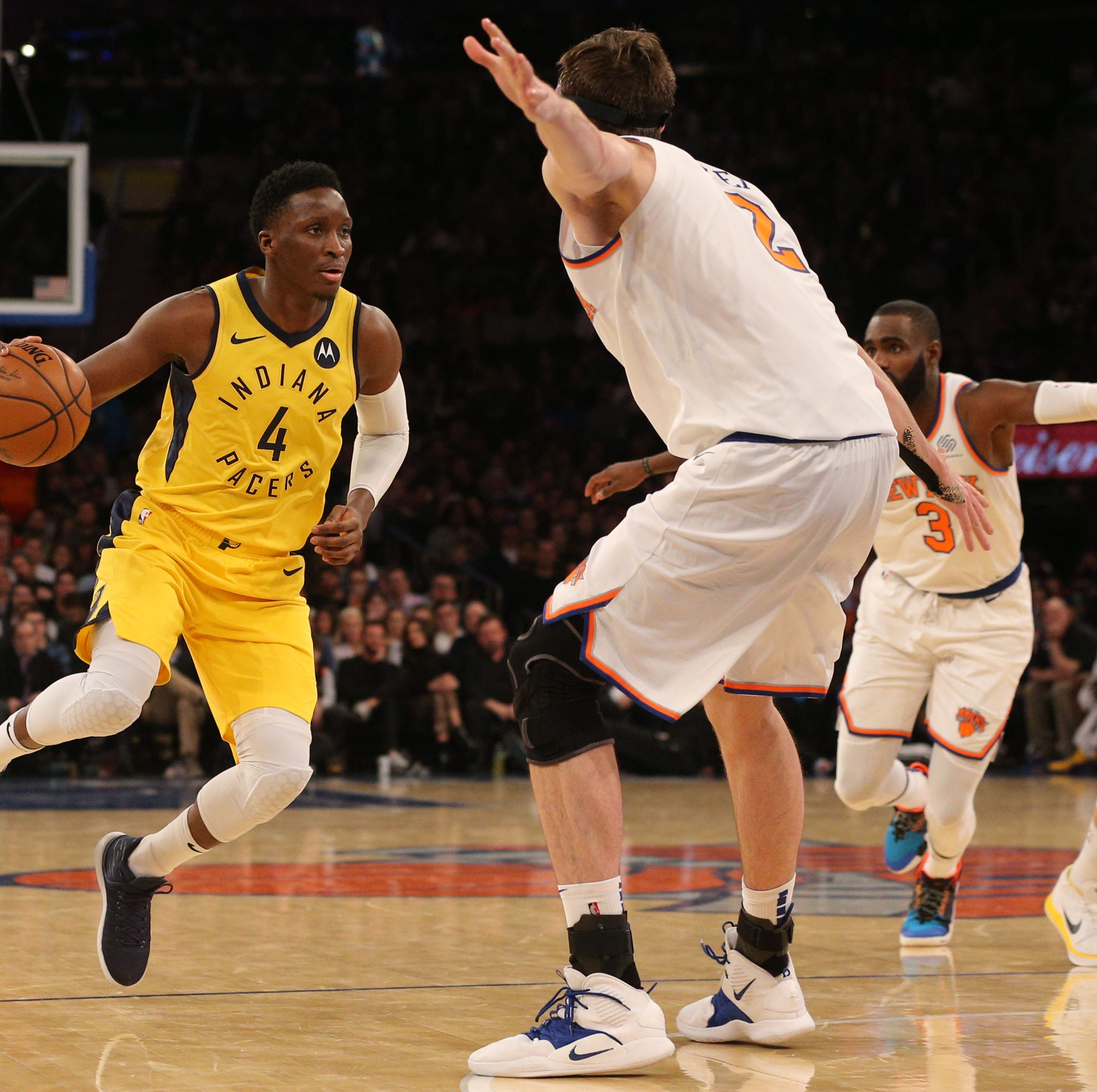 Victor Oladipo won't be at Pacers vs. Celtics Game 3