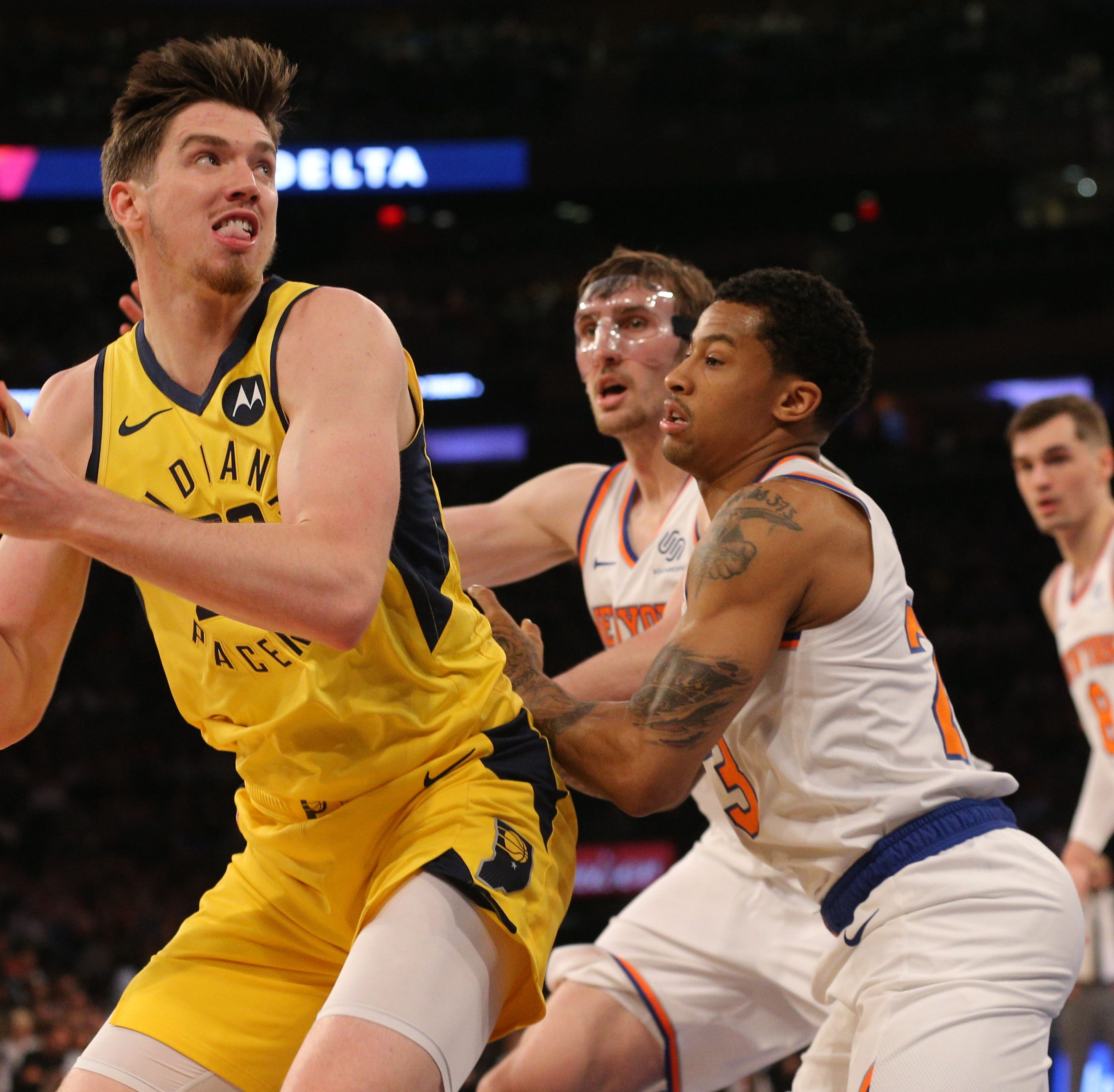 Indiana Pacers giving T.J. Leaf a shot to join 10-man rotation
